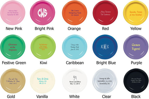Party Plate Colors