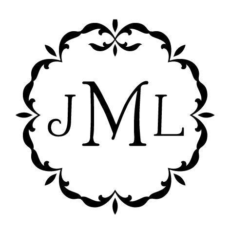 Custom Monogram Stamp 3331