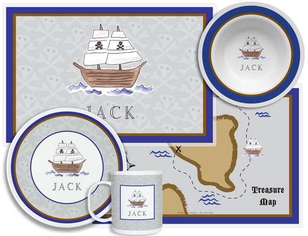 Ahoy Matey Children's Plate Set