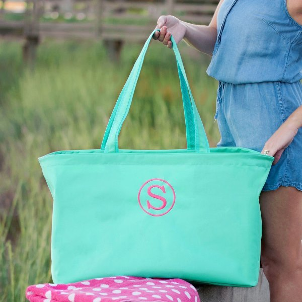 Monogrammed Ultimate Tote, personalized gifts