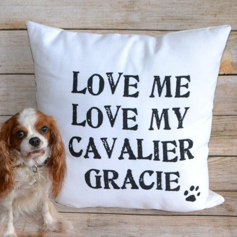 "Custom Pillow - ""Love My Pet"""