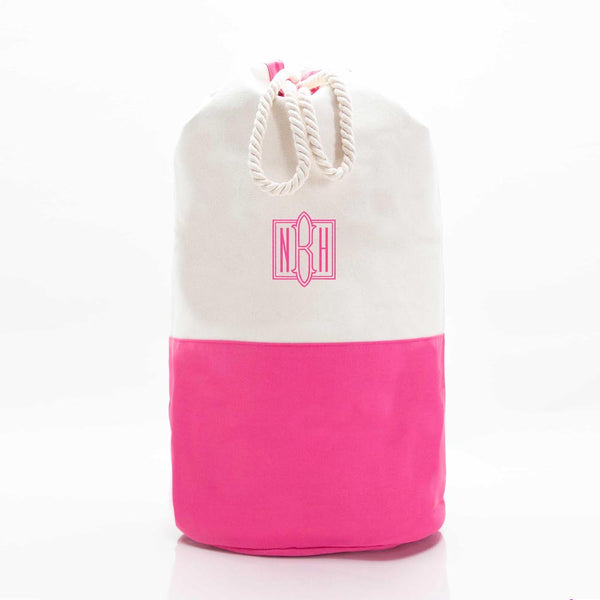 Hot Pink Laundry Duffel Bag