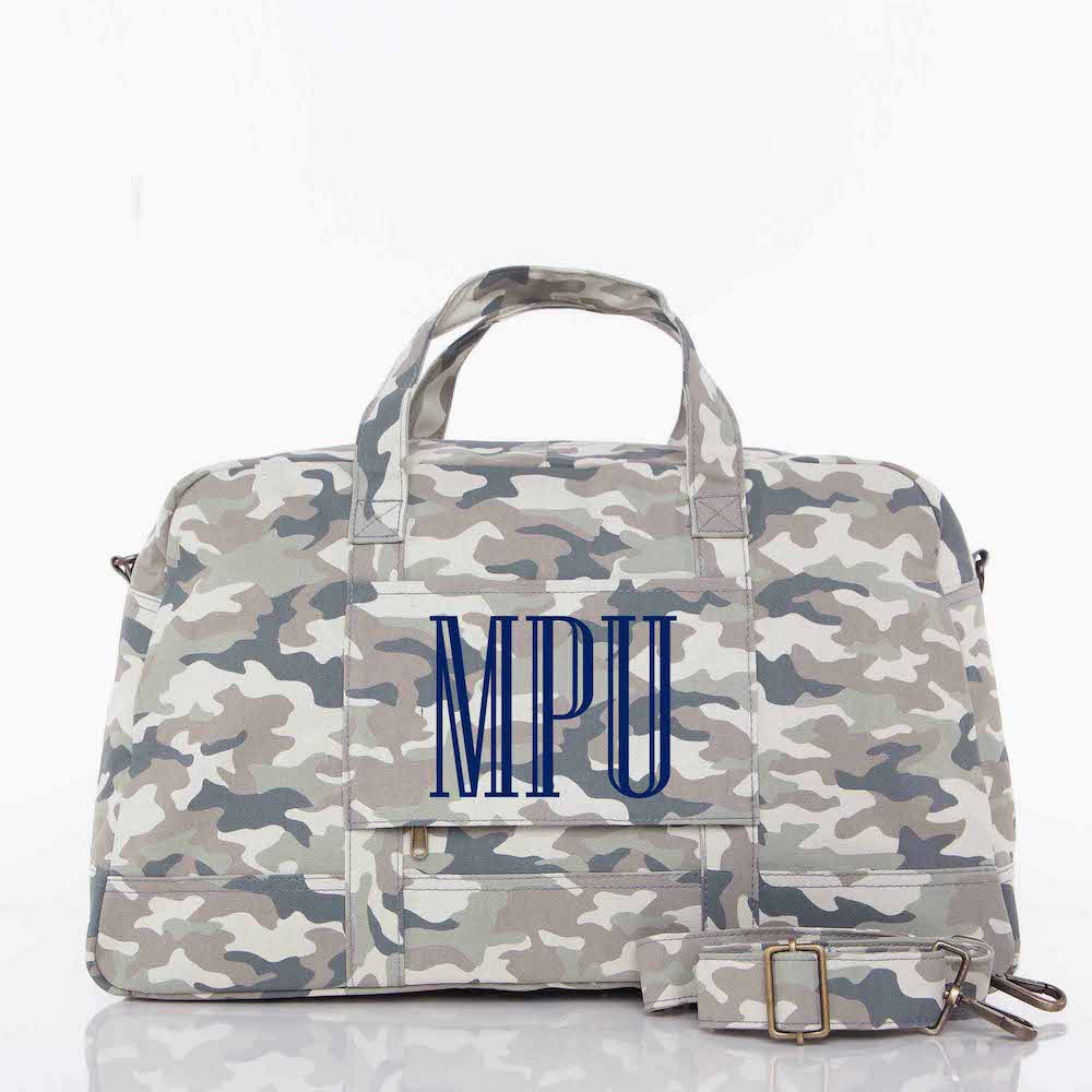 Modern Camo Expedition Bag