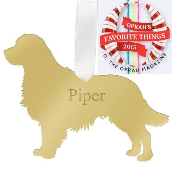 Acrylic Pet Ornament - Oprah's Favorite Thing!