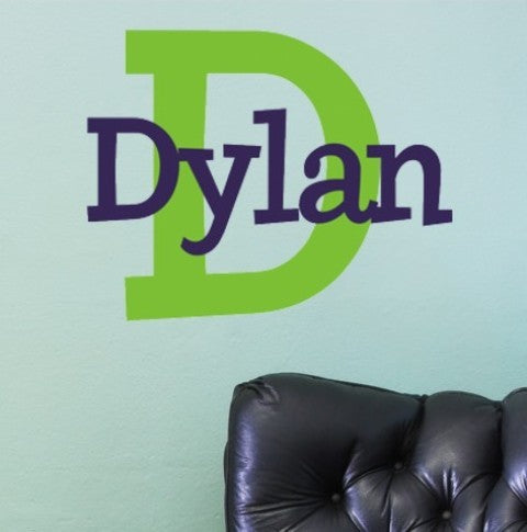 Dylan's Preppy Wall Decal