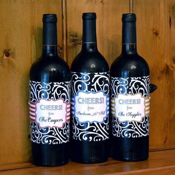 Personalized Wine Wraps
