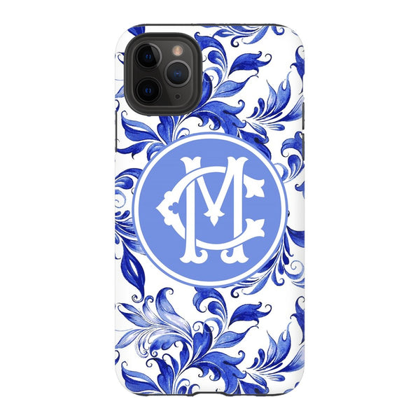 Blue Swirl Phone Case