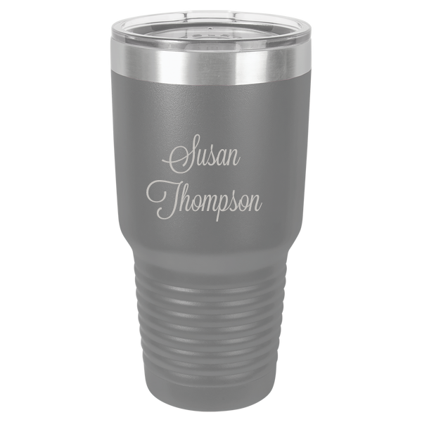 Personalized 30 oz. Stainless Steel Tumbler