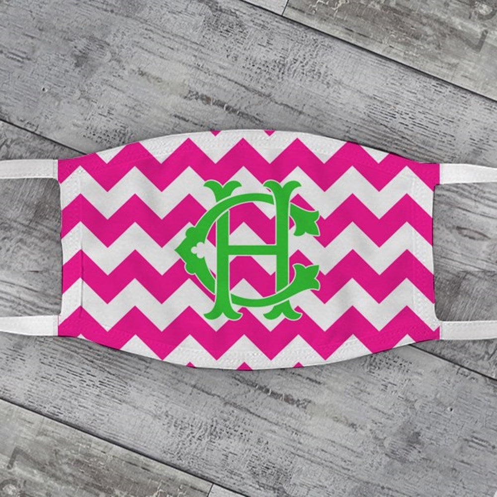 Chevron Face Mask - Choose Colors