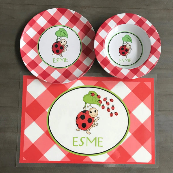 Ladybug Children's Tabletop Set
