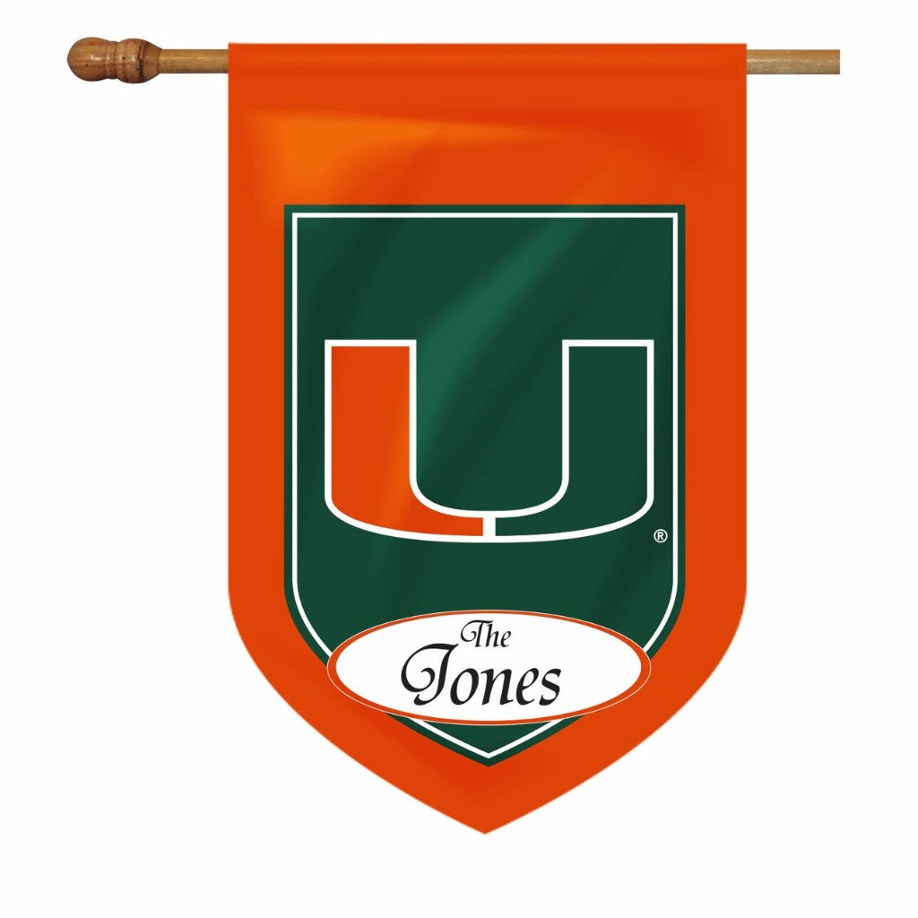 Miami Personalized House & Garden Flags