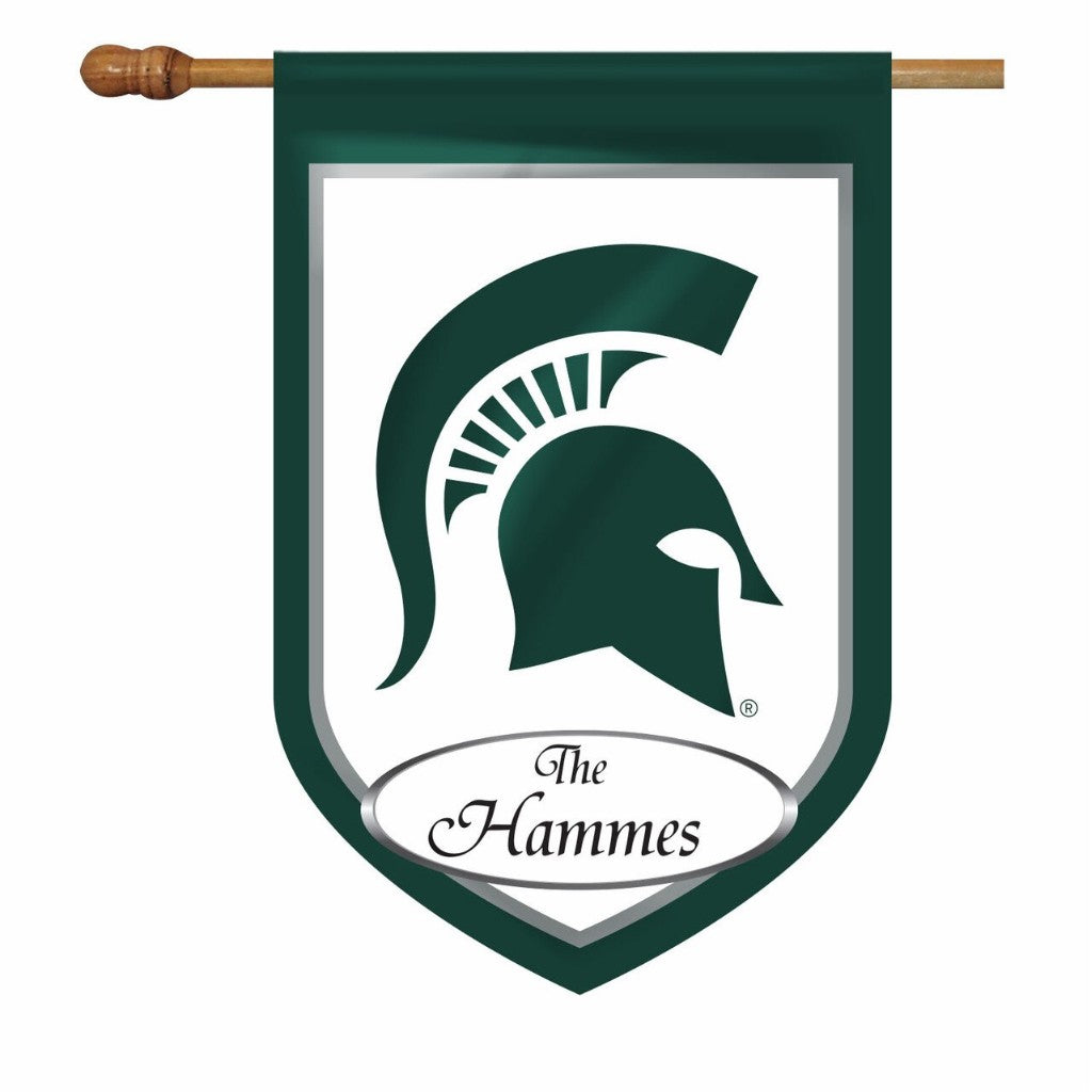 Michigan State Personalized House or Garden Flags