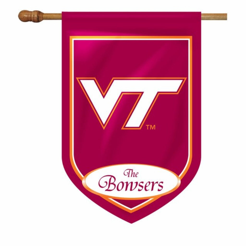 Virginia Tech Personalized House or Garden Flags