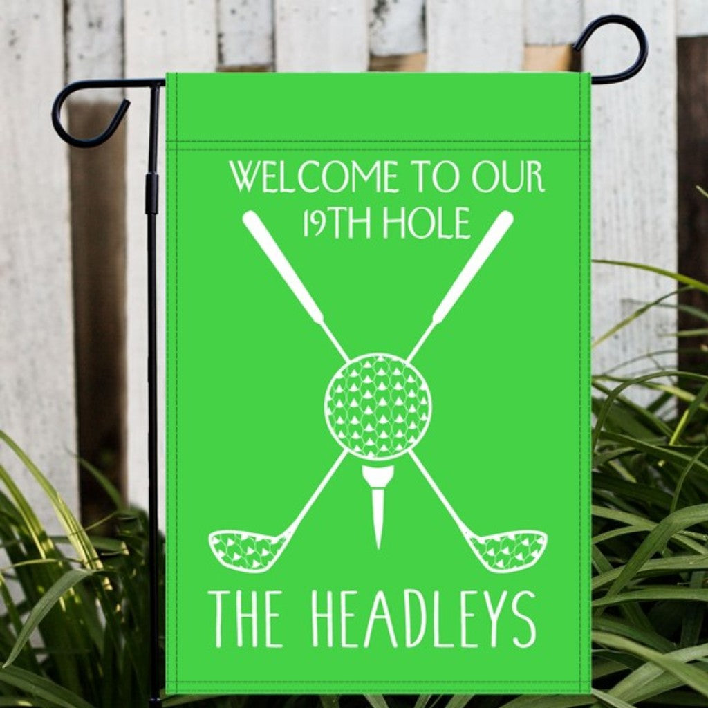 19th Hole Garden or House Flag