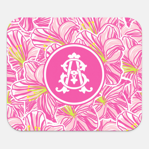 Hibiscus Mouse Pad