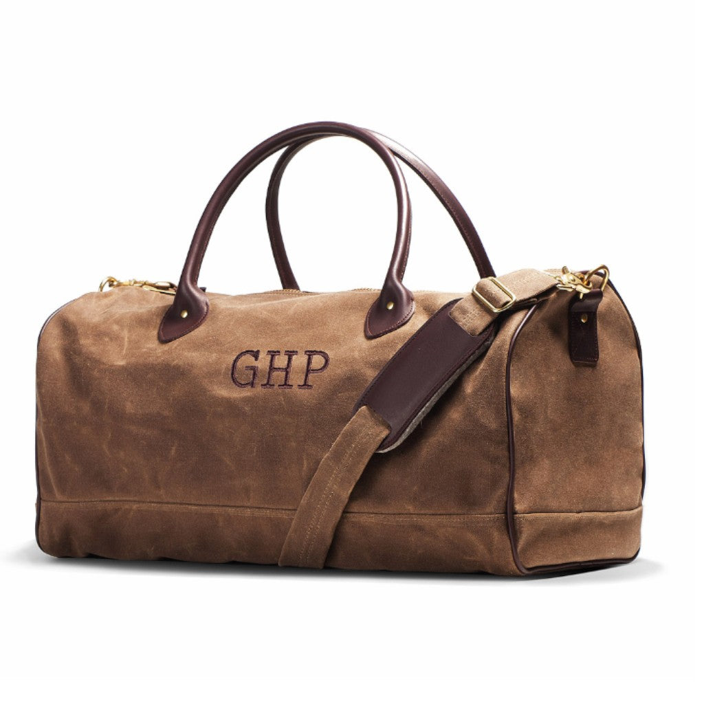 Field Tan Huntsman Duffle Bag