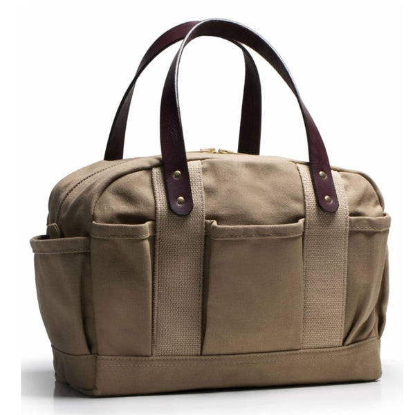 Khaki Canvas Mechanics Bag