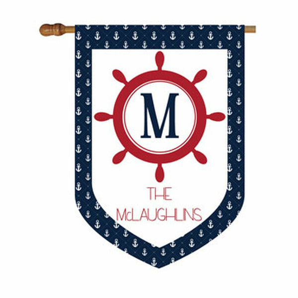Premium Nautical House or Garden Flag