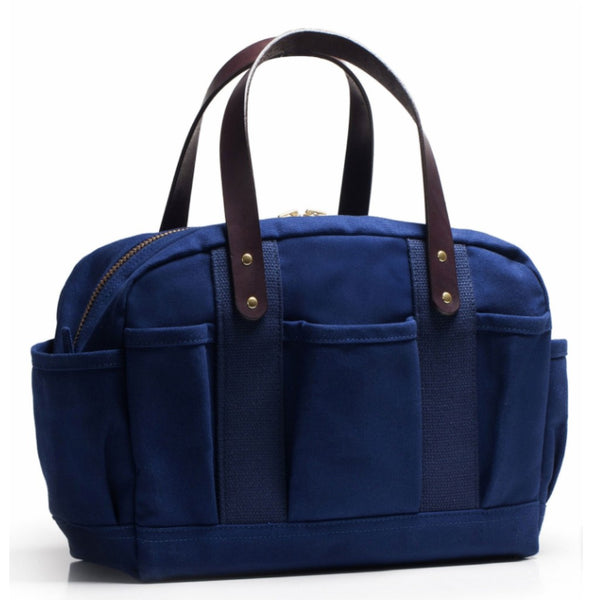 Navy Canvas Mechanics Bag