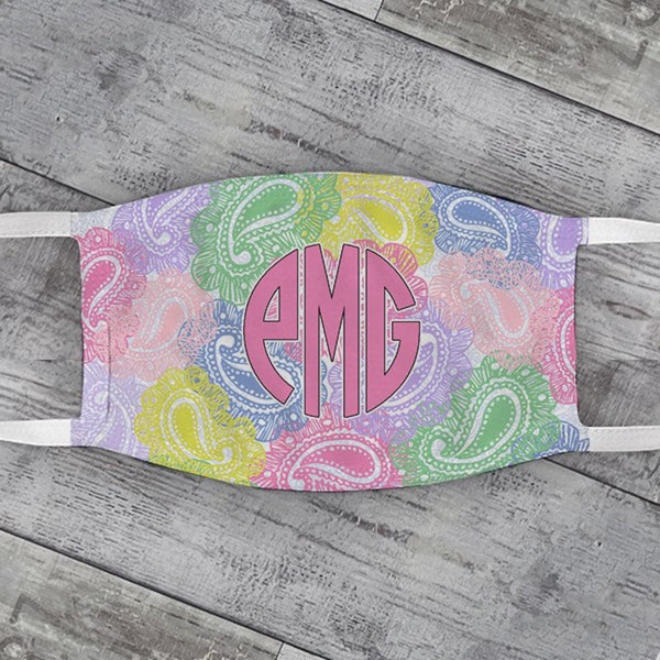 Summer Paisley Face Mask