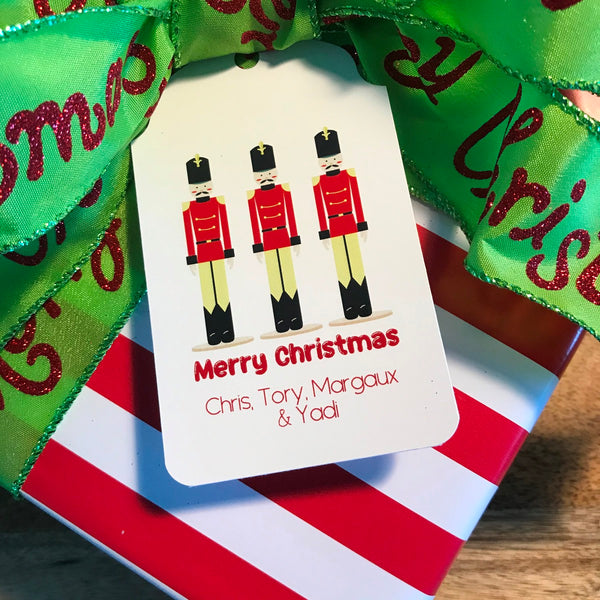 Holiday Nutcracker Gift Tags
