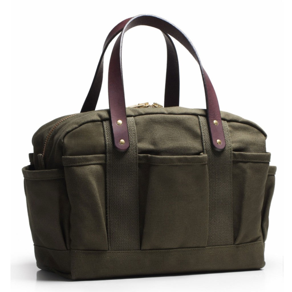 Olive Canvas Mechanics Bag