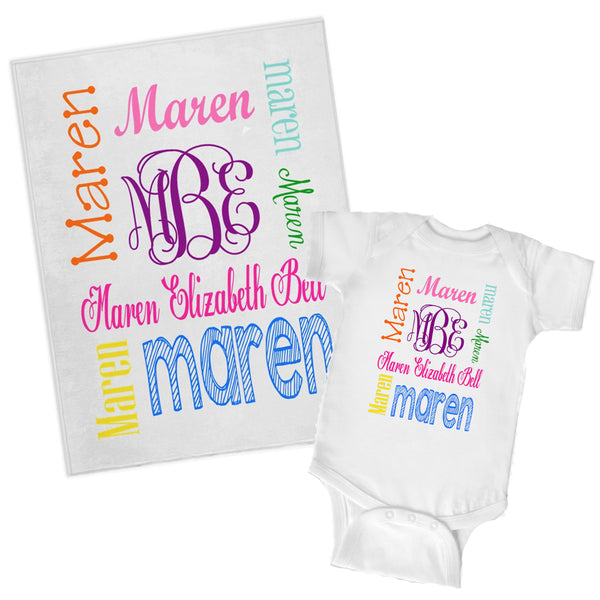 Over the Rainbow Baby Gift Set