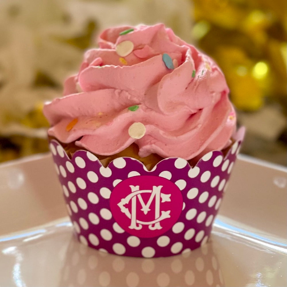 Polka Dots Cupcake Wrappers - Choose Colors