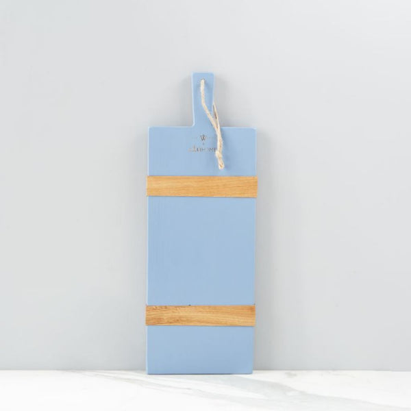 Small French Blue Rectangle Charcuterie Board