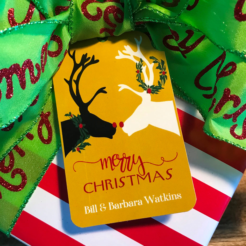 Holiday Reindeer Love Gift Tags