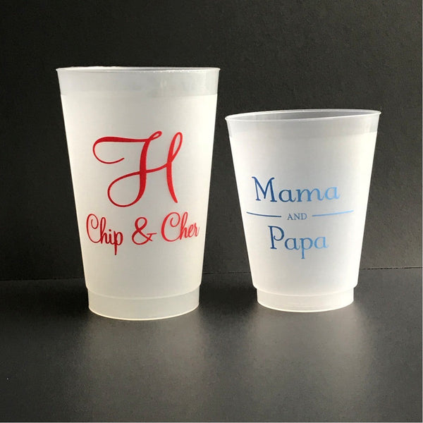 Design Your Own Frosted Cups