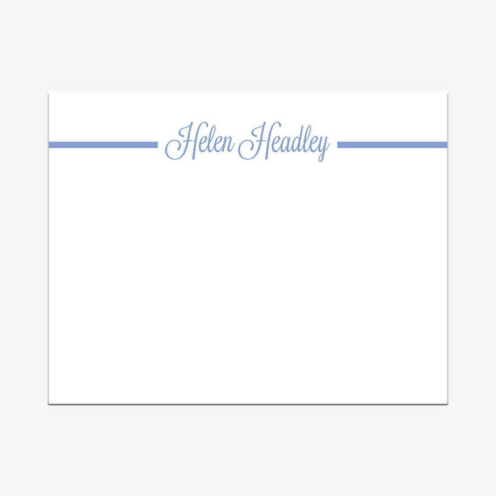 Cornflower Simply Stated Note Cards