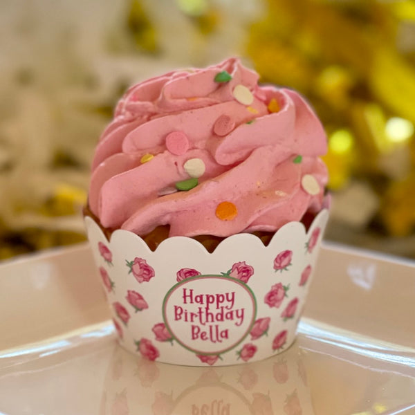 Sweet Roses Cupcake Wrappers