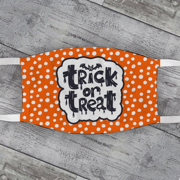 Trick or Treat Halloween Face Mask