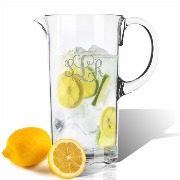 Monogram Unbreakable Pitcher
