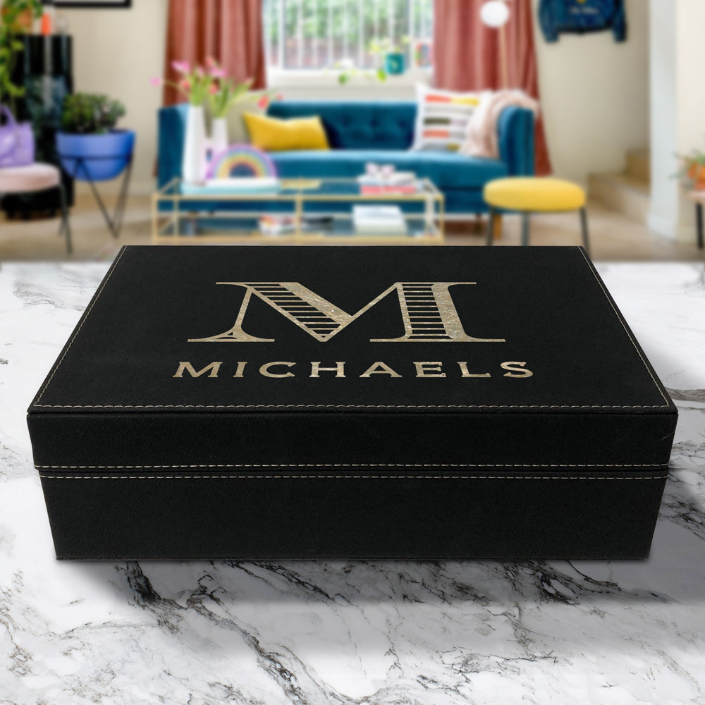 Michaels Vegan Leather Box