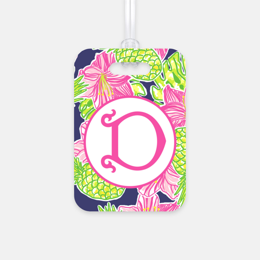 Tropical Breeze Luggage Tag