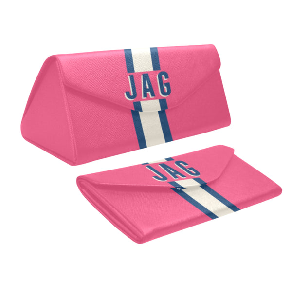 Solid Pink Eyewear Case