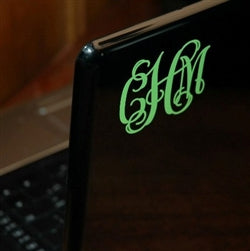 Monogram the outside of your laptop.