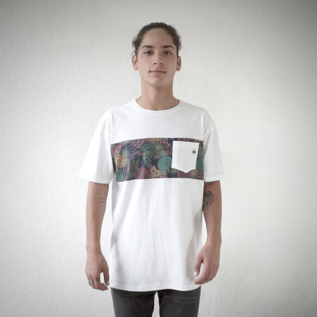 LEAF POCKET TEE