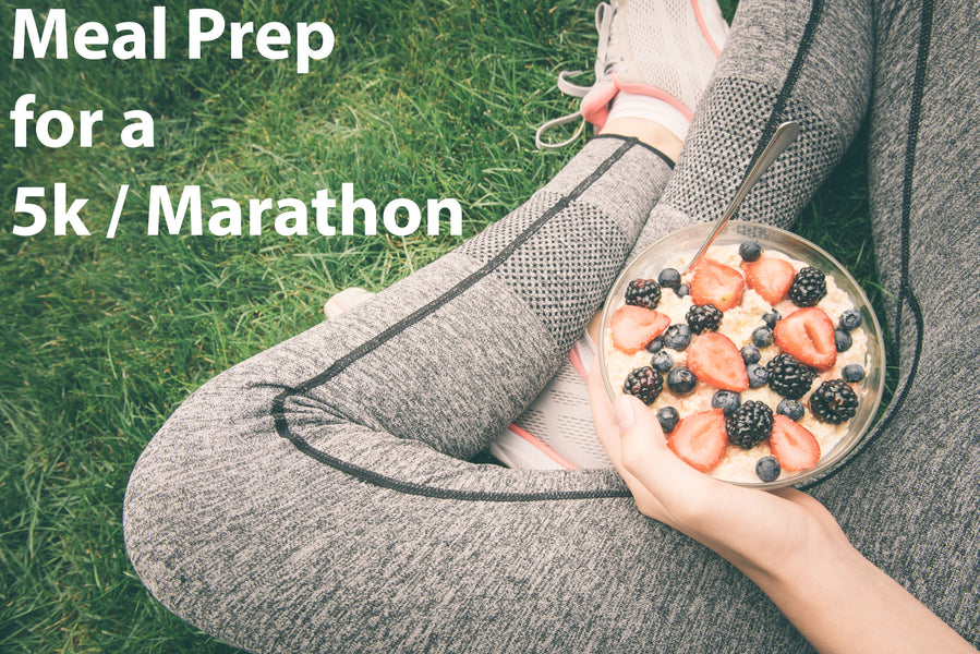 Surpercharged Meal Planning to Prep for a 5k or Marathon with Example Meal Plan