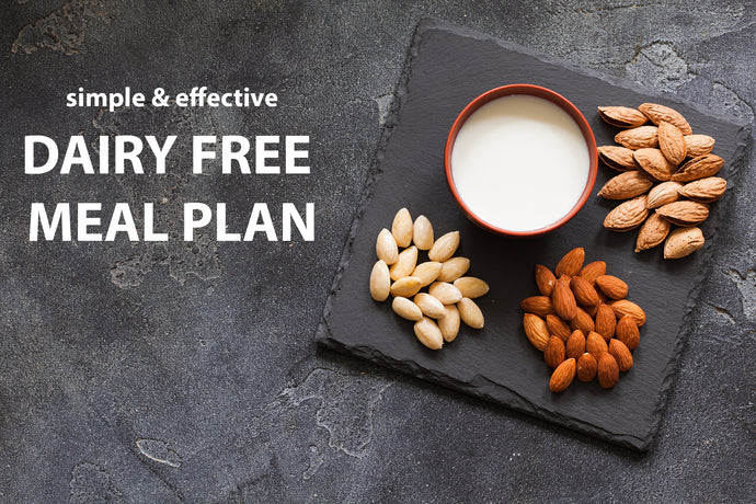 Why a No Dairy Diet is Simple and Effective with Example Dairy-Free Meal Plan