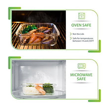 [5-Pack] Glass Meal Prep Containers - Food Prep Containers with Lids Meal Prep - Food Storage Containers Airtight - Lunch Containers Portion Control Containers - BPA Free Container [29 ounce]