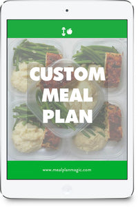 4-Week Customized Meal Plan With MealPlanMagic, Crafted By Dietitian Nutritionists