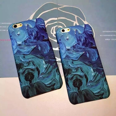 Seas and Oceans iPhone Case