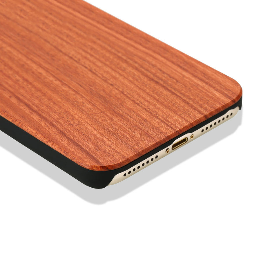 official photos c1769 bb9b5 Real Wood Case For iphone 7 6 6S Plus 5 5S SE Cover High Quality Durable  Natural Rosewood Bamboo Walnut Wooden Hard Phone Cases -