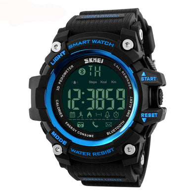 Sport Smartwatch. Chronograph, Shock Resistant, Calendar. Android iOS Compatible.