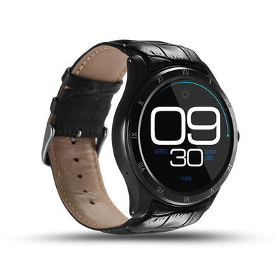 Android 5.1 Heart Rate Monitor Smart Watch Finow Q5 Call SIM Card GPS Tracker Pedometer Bluetooth Smartwatch Phone