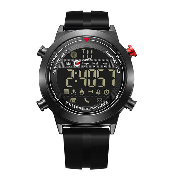 Fashionable Watch , ideal for Hiking and waterproof up to 5 ATM. Android iOS.