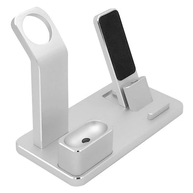 4 in 1 Charging Stand Aluminum Alloy Multifunctional Charging Docks Holder for Apple Products
